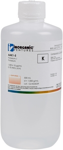 1,000 ppm K in HNO3 Acid, 500mL [30-AAK1-5]