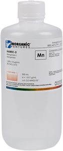1,000 ppm Mn in HNO3 Acid, 500mL [30-AAMN1-5]