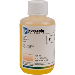 1,000 ppm Pt in HCl [30-AAPT1] LARGE