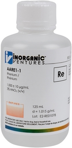 1,000 ppm Re in HNO3 Acid, 125mL [30-AARE1-1]_MAIN