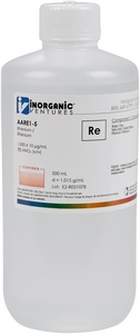 1,000 ppm Re in HNO3 Acid, 500mL [30-AARE1-5]