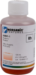 1,000 ppm Rh in HCl, 125mL [30-AARH1-1]_MAIN