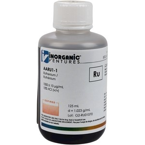 1,000 ppm Ru in HCl [30-AARU1] LARGE