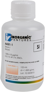1,000 ppm Si in HNO3 Acid tr. HF, 125mL [30-AASI1-1]