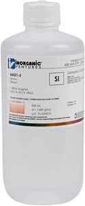 1,000 ppm Si in HNO3 Acid tr. HF, 500mL [30-AASI1-5]