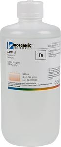 1,000 ppm Tem in HCl, 500mL [30-AATE1-5]_MAIN