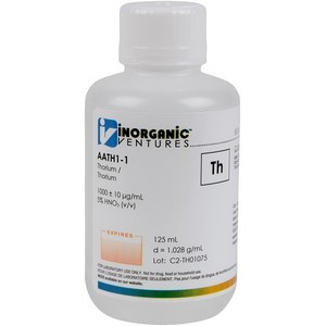 1,000 ppm Th in HNO3 Acid [30-AATH1] LARGE