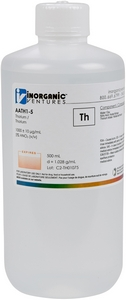 1,000 ppm Th in HNO3 Acid, 500mL [30-AATH1-5]