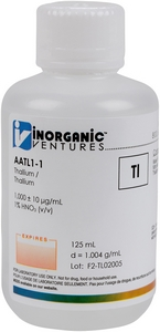 1,000 ppm Tl in HNO3 Acid, 125mL [30-AATL1-1]_MAIN