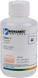 1,000 µg/mL Aluminum, 125mL [30-CGAL1-1]