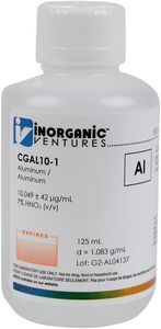10,000 µg/mL Aluminum, 125mL [30-CGAL10-1]