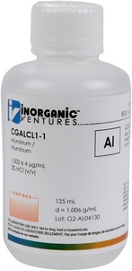 1,000 µg/mL Aluminum, 125mL [30-CGALCL1-1]