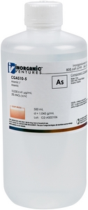 10,000 µg/mL Arsenic, 500mL [30-CGAS10-5]