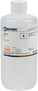 1,000 µg/mL Boron, 500mL [30-CGB1-5]