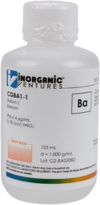 1,000 µg/mL Barium [30-CGBA1] MAIN
