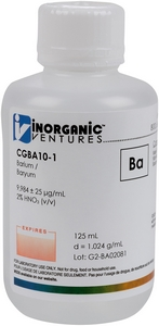 10,000 µg/mL Barium, 125mL [30-CGBA10-1]