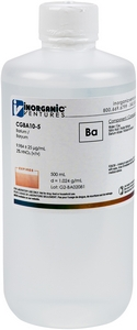 10,000 µg/mL Barium, 500mL [30-CGBA10-5]