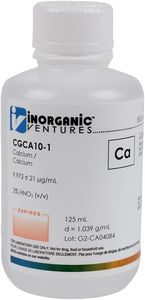 10,000 µg/mL Calcium, 125mL [30-CGCA10-1]