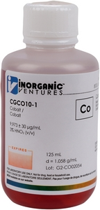 10,000 µg/mL Cobalt, 125mL [30-CGCO10-1]