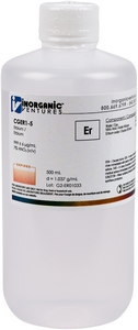 1,000 µg/mL Erbium, 500mL [30-CGER1-5]