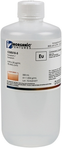 10,000 µg/mL Europium, 500mL [30-CGEU10-5] MAIN
