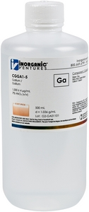 1,000 µg/mL Gallium, 500mL [30-CGGA1-5]