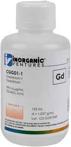 1,000 µg/mL Gadolinium, 125mL [30-CGGD1-1]