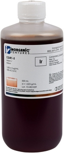 1,000 µg/mL Iridium, 500mL [30-CGIR1-5]