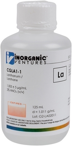 1,000 µg/mL Lanthanum, 125mL [30-CGLA1-1]