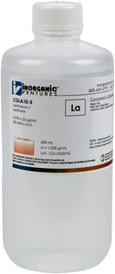 10,000 µg/mL Lanthanum, 500mL [30-CGLA10-5]