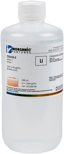 10,000 µg/mL Lithium, 500mL [30-CGLI10-5]