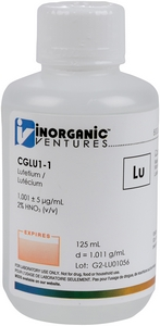 1,000 µg/mL Lutetium, 125mL [30-CGLU1-1]