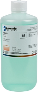 1,000 µg/mL Nickel, 500mL [30-CGNI1-5]