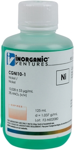 10,000 µg/mL Nickel, 125mL [30-CGNI10-1]