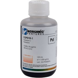 10,000 µg/mL Palladium in HCl [30-CGPD10] LARGE