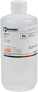 1,000 µg/mL Rhenium, 500mL [30-CGRE1-5]