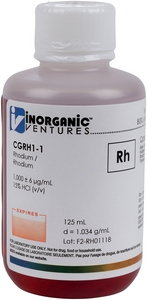 1,000 µg/mL Rhodium, 125mL [30-CGRH1-1]