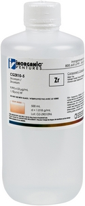 10,000 µg/mL Zirconium, 500mL [30-CGZR10-5]