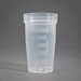 100 mL PP-H Flat bottom, Graduated, Titration Sample Beakers-Case of 450 [50-13009] THUMBNAIL