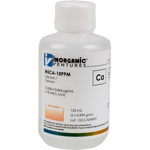 10 µg/mL Calcium in dilute Nitric Acid [30-MSCA-10PPM] LARGE