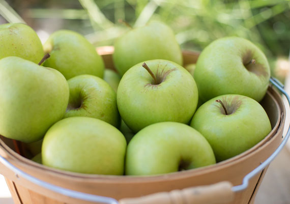 Golden Delicious Apples in Box