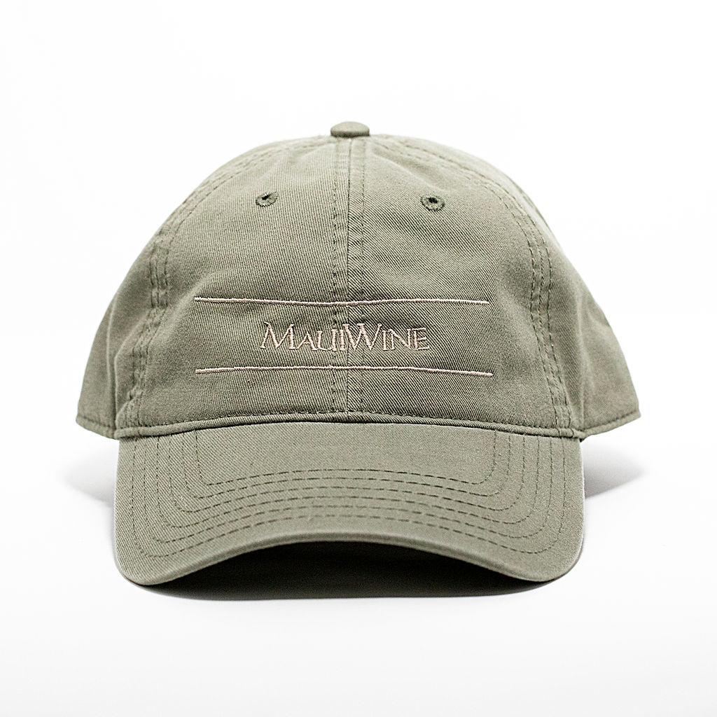 Canvas MauiWine Hat [Olive] MAIN