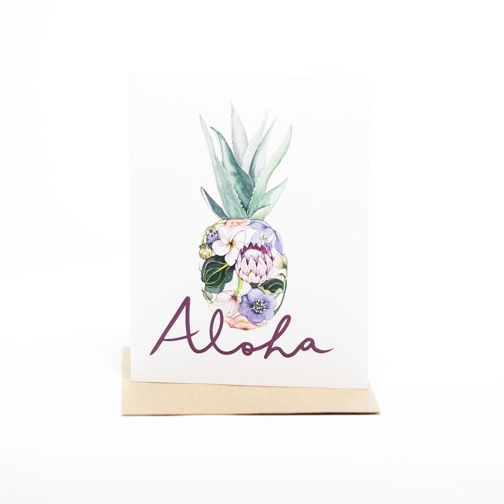 Pineapple Aloha Gift Card THUMBNAIL