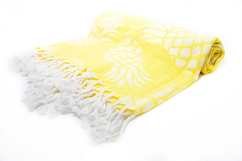 Pineapple Turkish Towel [Maui Gold] THUMBNAIL