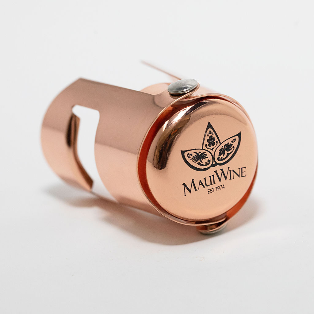 MauiWine Sparkling Stopper [Copper] THUMBNAIL