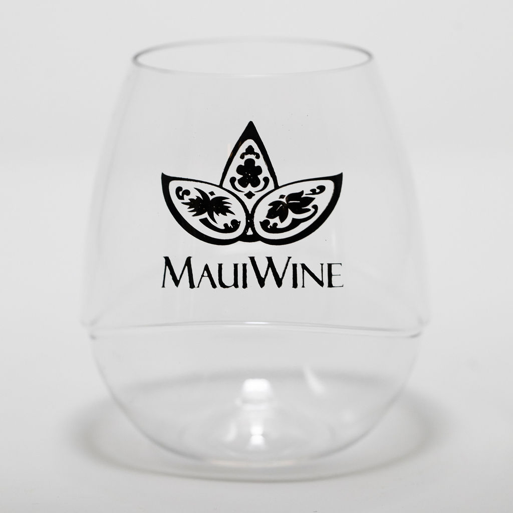Maui Wine Acrylic Tumbler Set [Black] THUMBNAIL