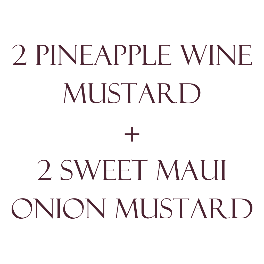 Mustard 4-Pack 2 Flavors THUMBNAIL