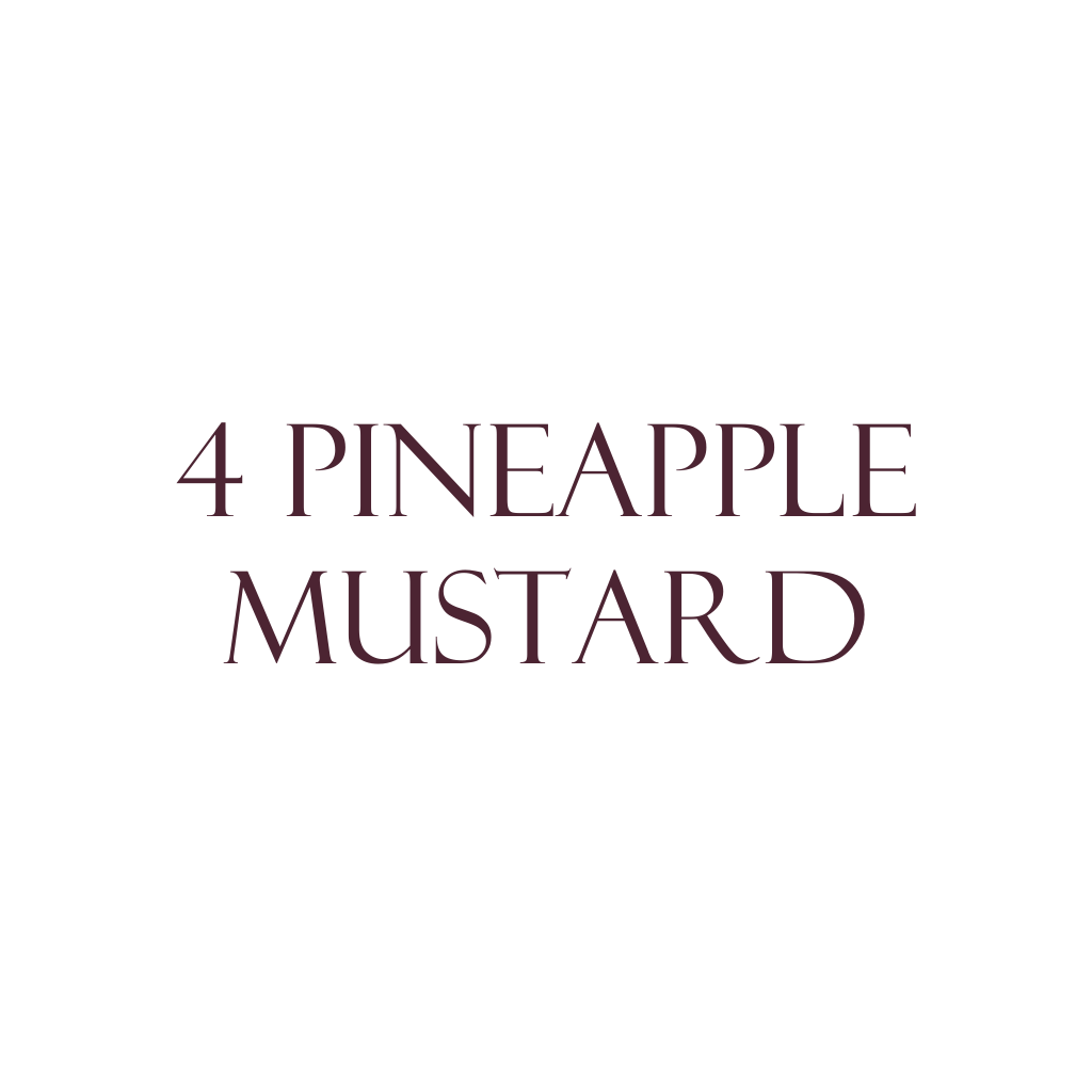 Pineapple Mustard 4-Pack THUMBNAIL