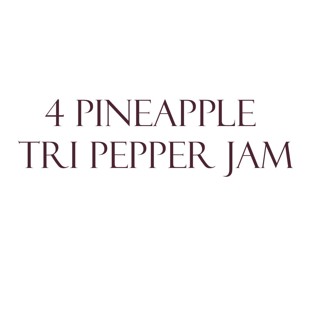Pineapple-Lilikoi Tri Pepper Jam 4-Pack THUMBNAIL