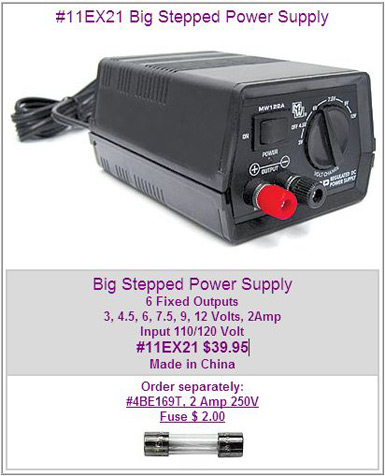 11EX21 Big Stepped Power Supply MAIN